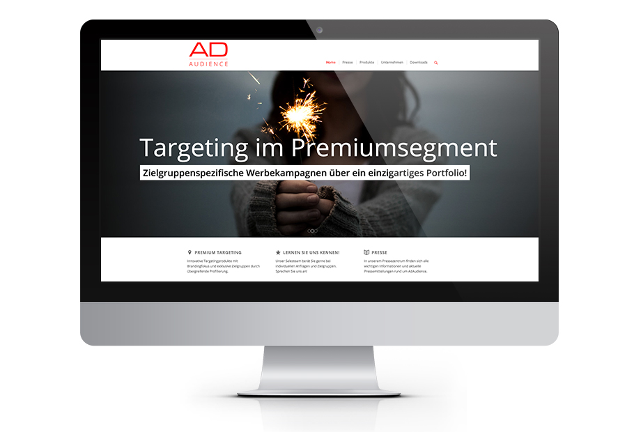 ADAUDIENCE Corporate Design